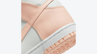 Nike Dunk High Crimson Tint DD1869-104 Back Detail