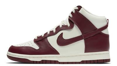 Nike Dunk High Team Red