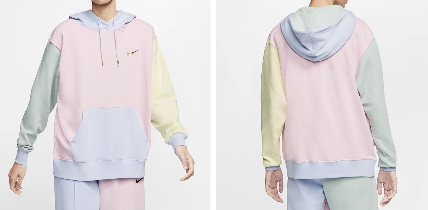nike hoodie multi