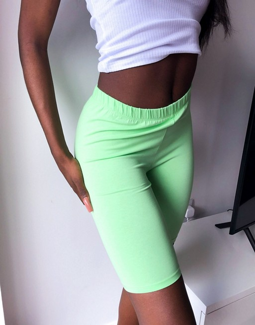 ASOS Design Legging Short Green