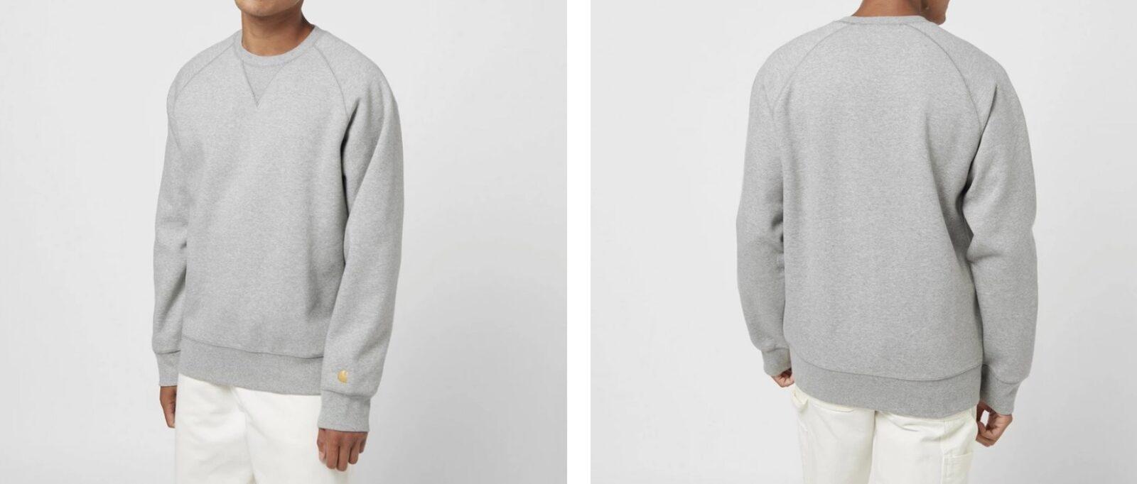 Carhartt Chase Sweatshirt Grey