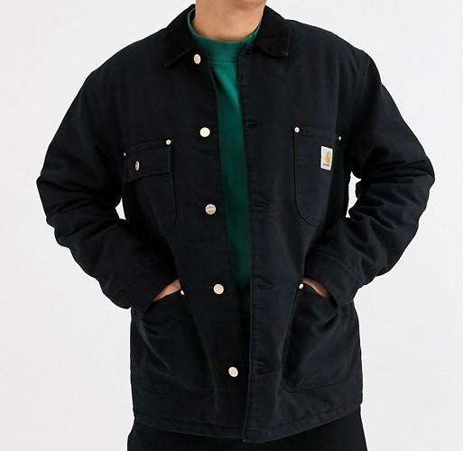 Carhartt chore jacket black
