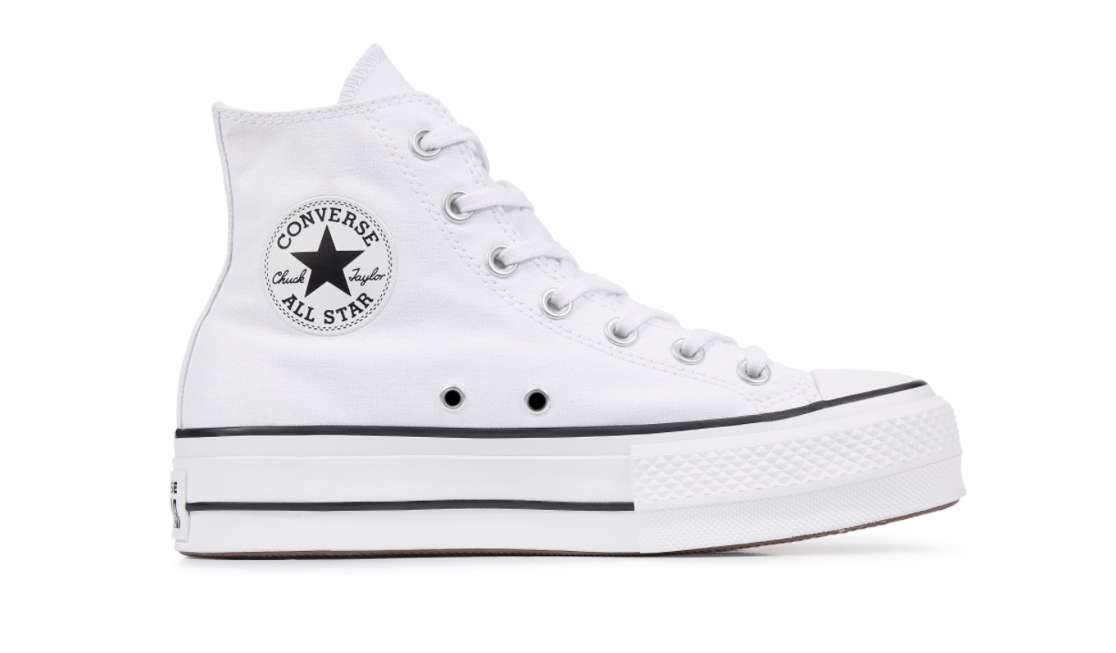 Chuck Taylor All Star Platform High Top White