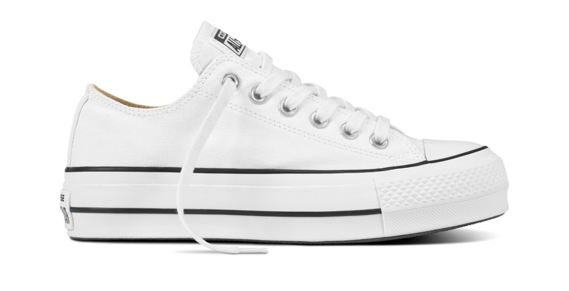 Chuck Taylor All Star Platform Low Top White