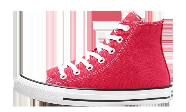 Converse Chuck Taylor All Star High Top Seasonal Colour Carmine Pink
