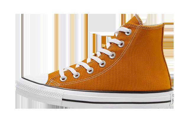 Converse Chuck Taylor All Star High Top Seasonal Colour Saffron Yellow