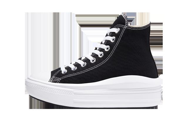 Converse Chuck Taylor All Star Move High Top Black White