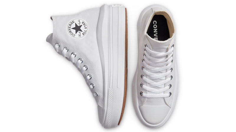 Converse Chuck Taylor All Star Move High Top White Middle