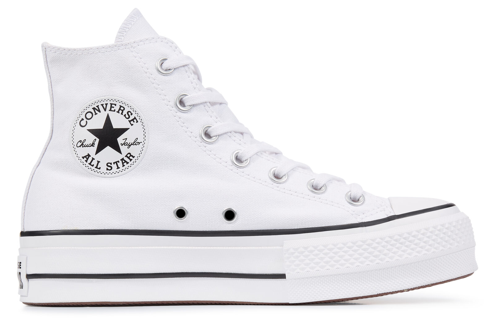 Converse Platform Chuck Taylor High Top White
