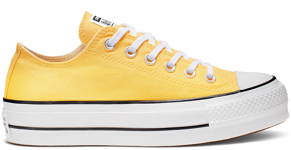 Converse Platform Chuck Taylor Low Buttery Yellow