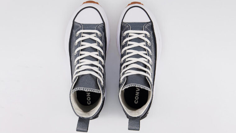 Converse Run Star Hike Egret Pearl Leather Middle thumbnail image