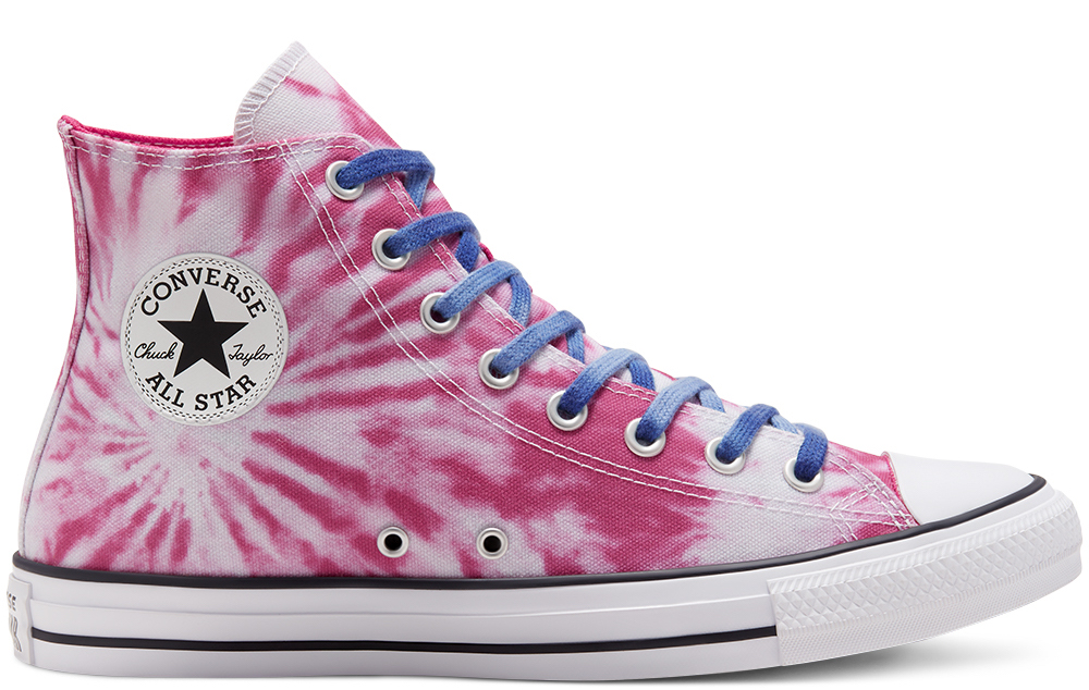 Converse Twisted Vacation Chuck Taylor High Pink