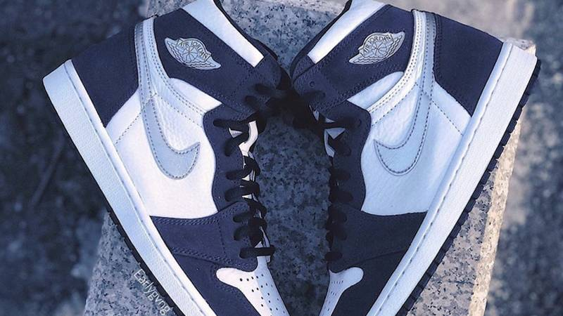 Jordan 1 High OG Japan Midnight Navy Lifestyle Side-by-Side