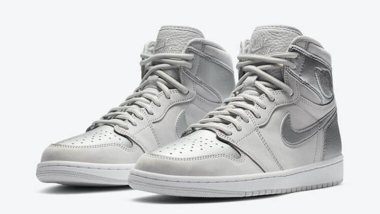 Jordan 1 High OG Japan Neutral Grey Front thumbnail image