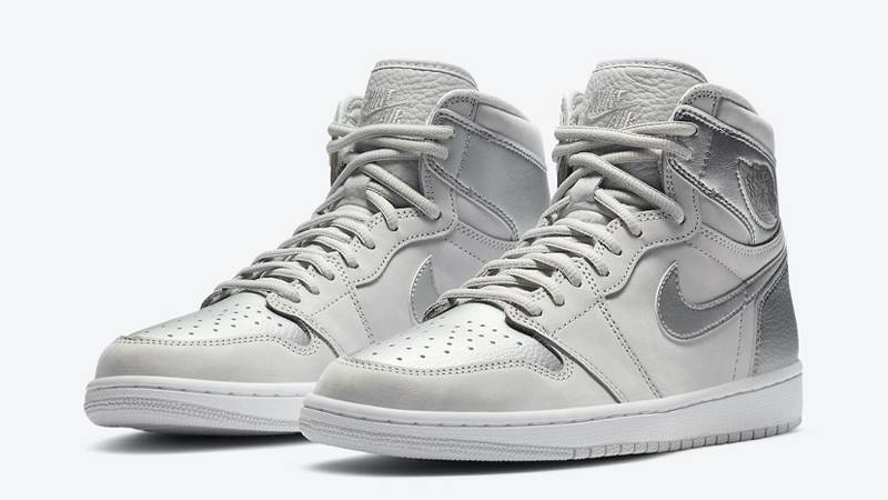 Jordan 1 High OG Japan Neutral Grey Front