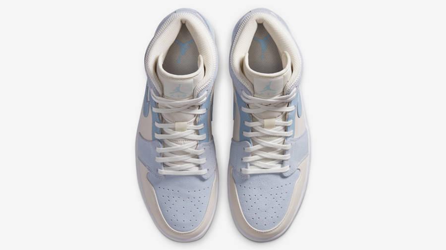Jordan 1 Mid Mix Materials Blue Tan | Where To Buy | DA4666-100 ...