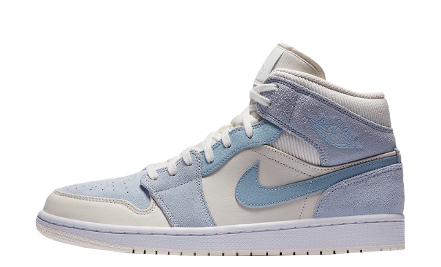 Jordan 1 Mid SE Mix Materials Blue Grey
