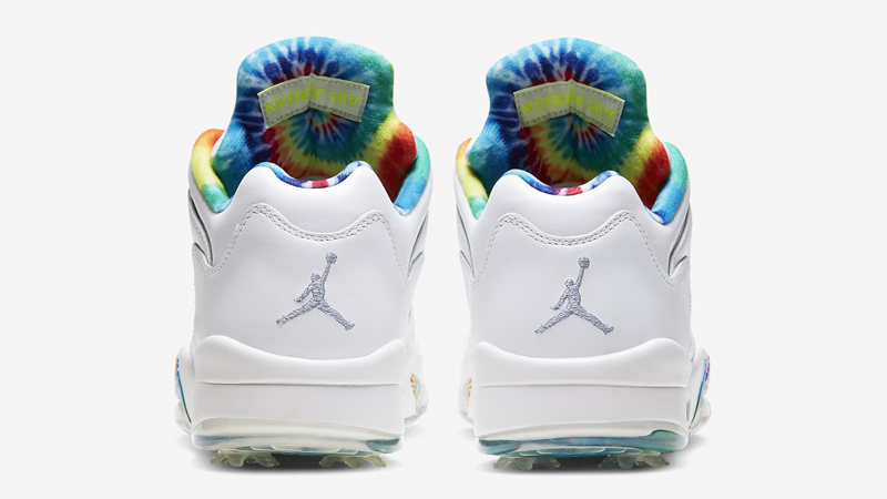 Jordan 5 Low Golf Tie Dye Back
