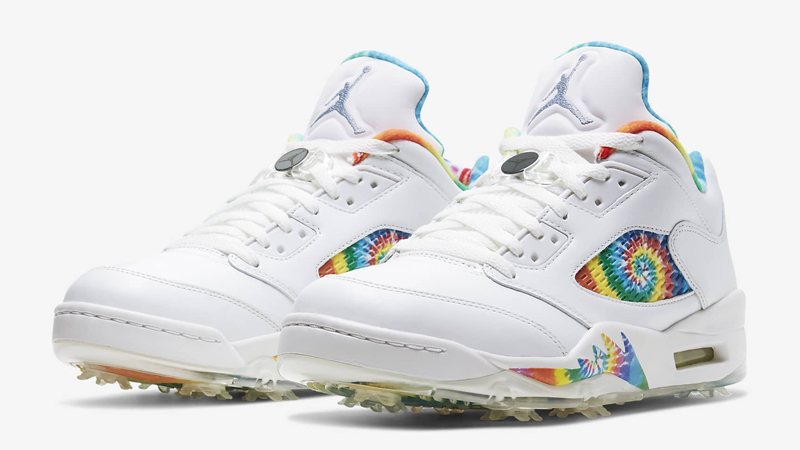Jordan 5 Low Golf Tie Dye Front