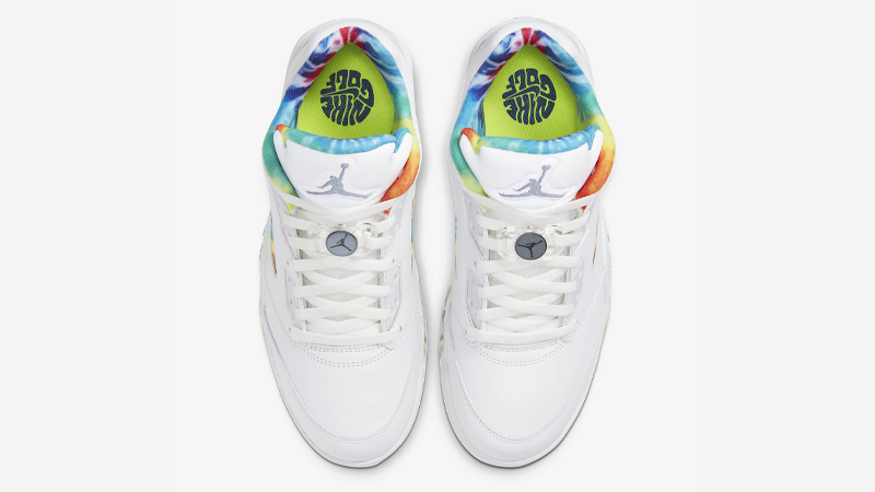 Jordan 5 Low Golf Tie Dye Middle