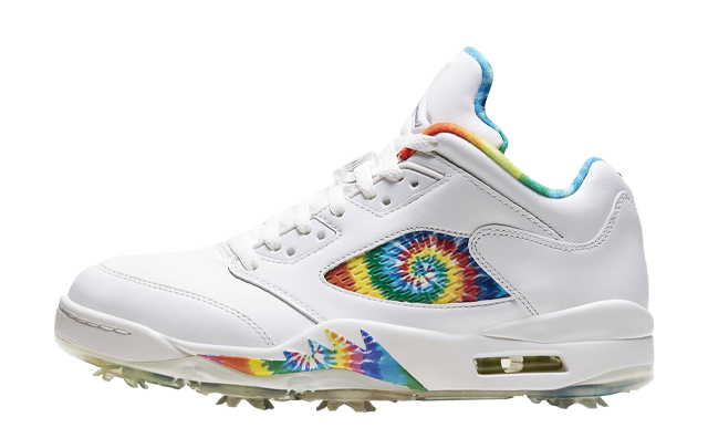 Jordan 5 Low Golf Tie Dye
