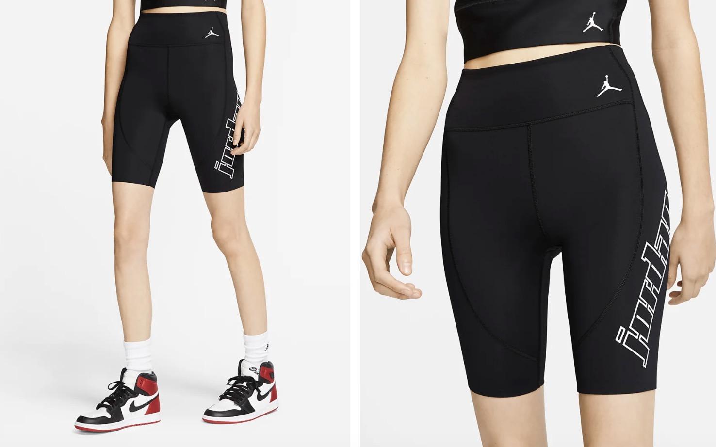 Jordan Moto Bike Shorts Black