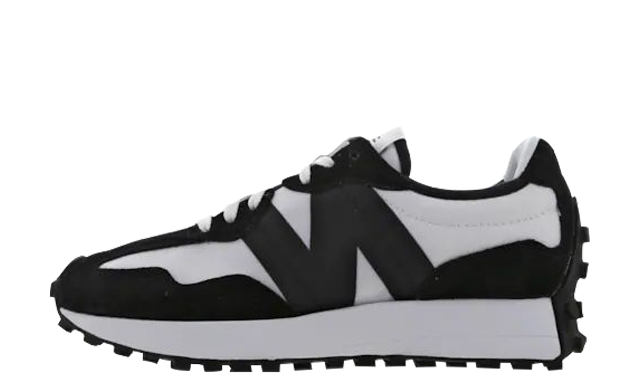 New Balance 327 White Black