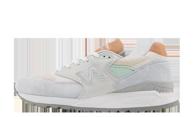 New Balance 998 Off White Tan