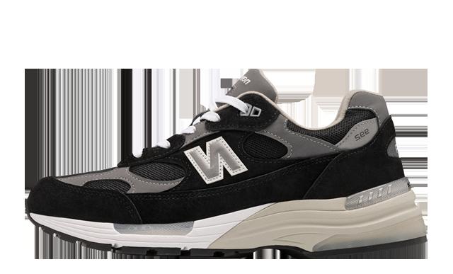 New Balance M992 EB Black Grey