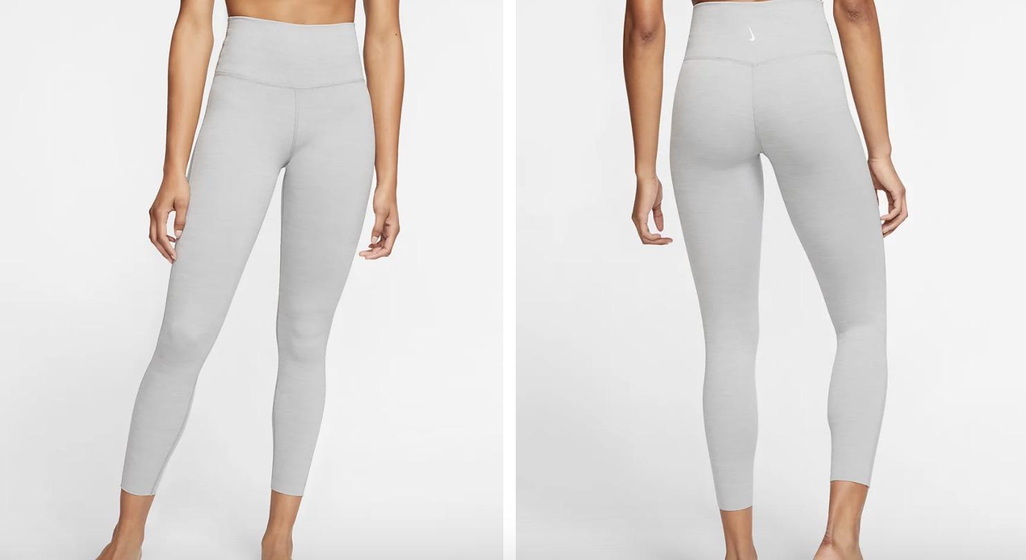 Nike 7:8 Yoga Leggings Grey
