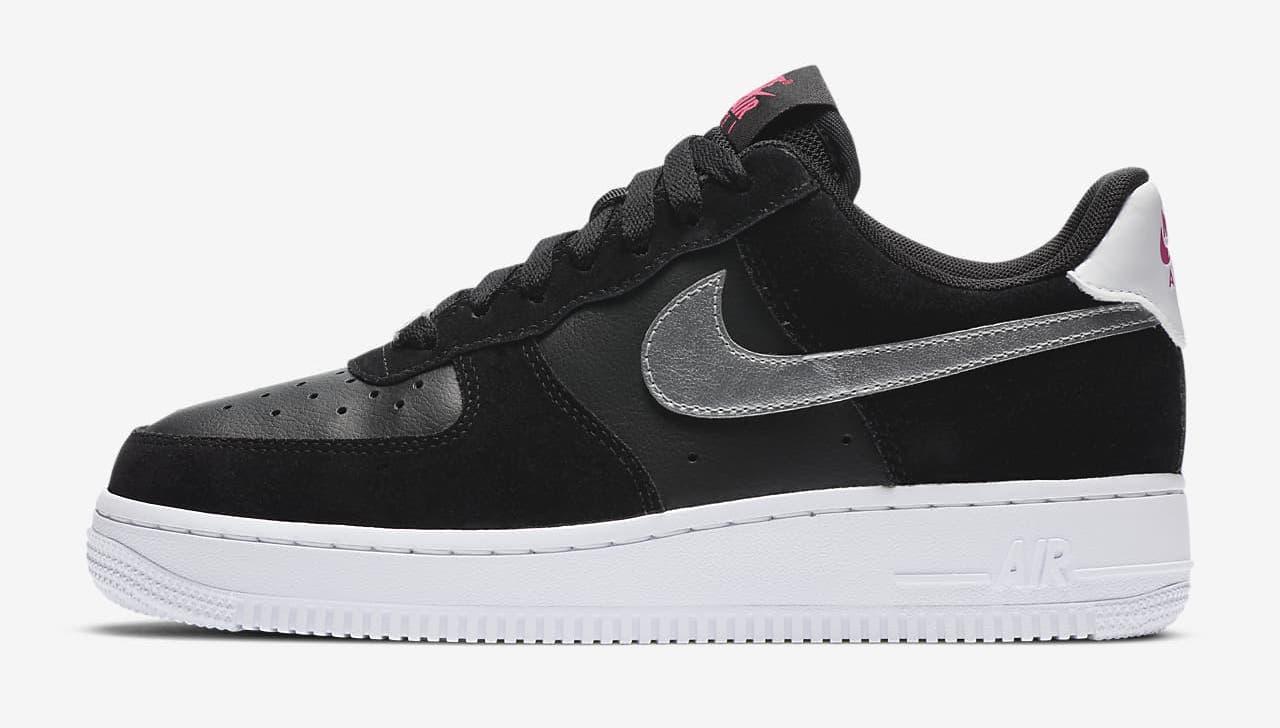 Nike Air Force 1 '07 Black Pink Blast