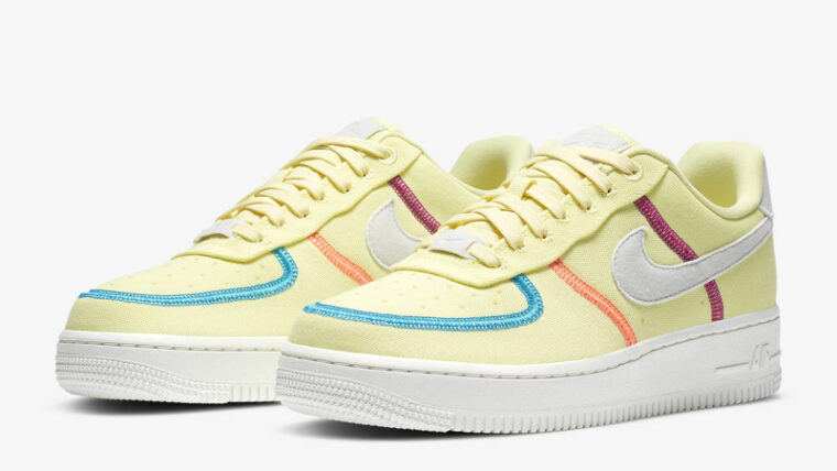 Nike Air Force 1 07 LX Life Lime Photon Dust Front thumbnail image