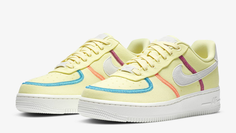 Nike Air Force 1 07 LX Life Lime Photon Dust Front