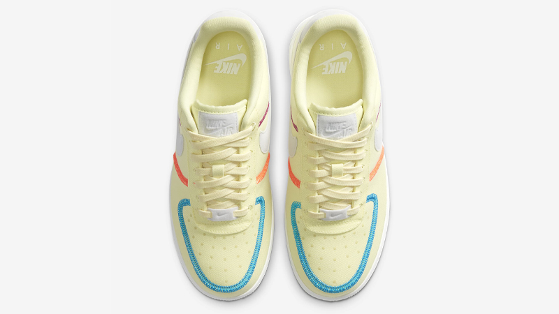 Nike Air Force 1 07 LX Life Lime Photon Dust Middle
