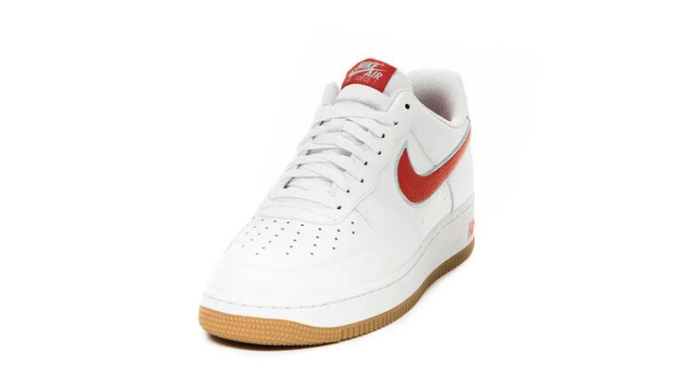 Nike Air Force 1 07 White Chile Red Front thumbnail image