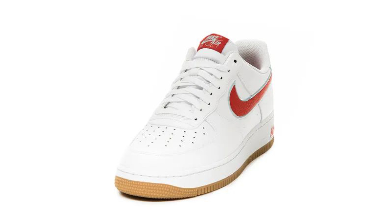 Nike Air Force 1 07 White Chile Red Front