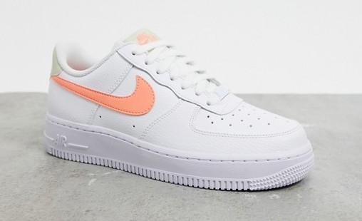 Nike Air Force 1 '07 White Orange