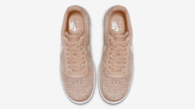 Nike Air Force 1 Flyknit 2.0 Sand Middle