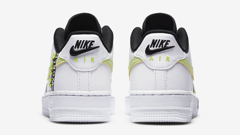 Nike Air Force 1 LV8 1 GS White Volt Back