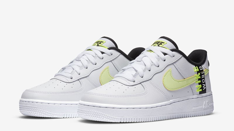 Nike Air Force 1 LV8 1 GS White Volt Front