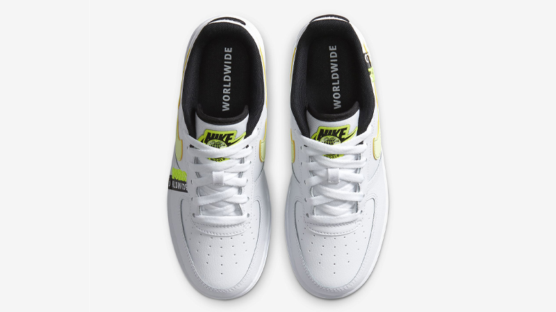 Nike Air Force 1 LV8 1 GS White Volt Middle