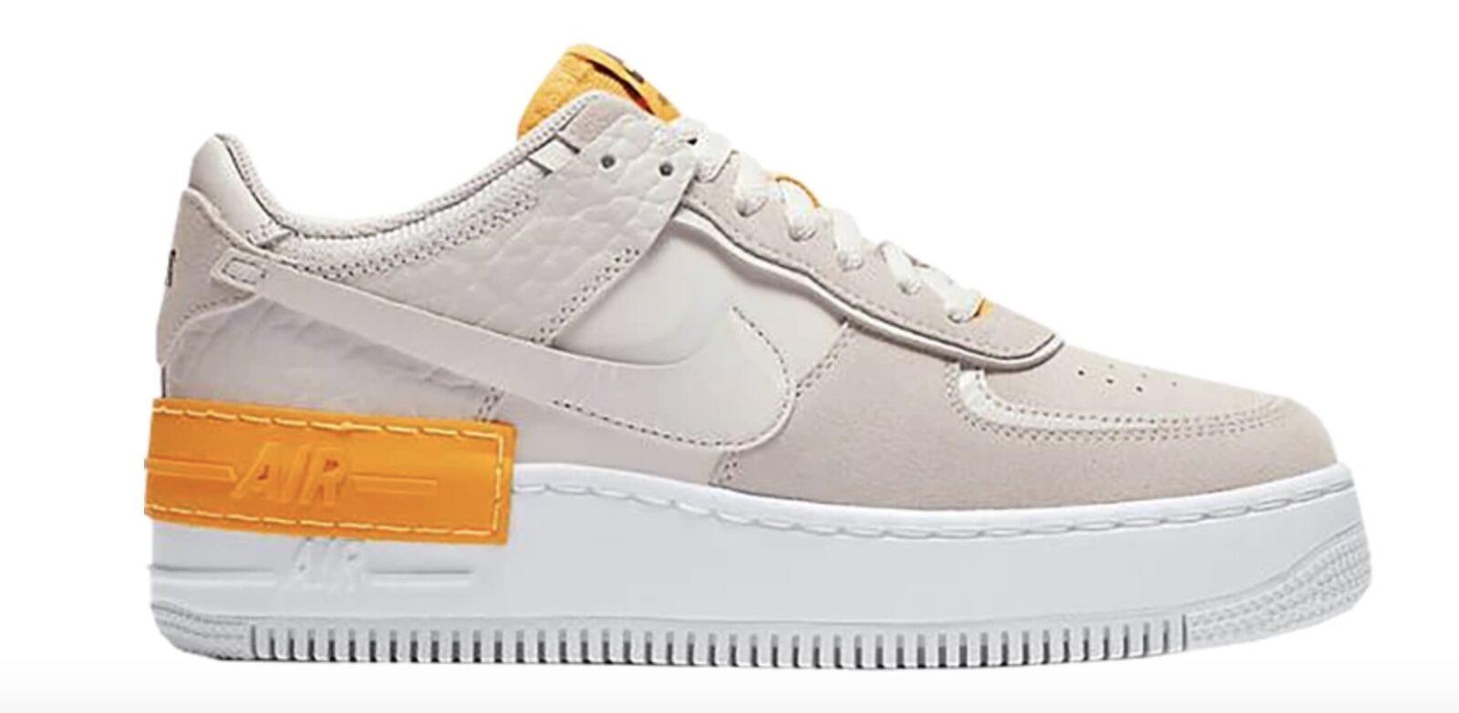 Nike Air Force 1 Shadow Grey Laser Orange