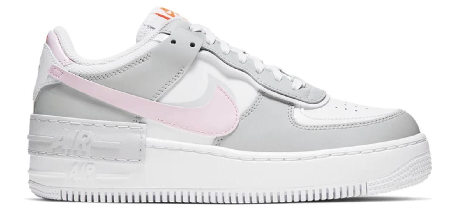 Nike Air Force 1 Shadow Grey Pink Foam