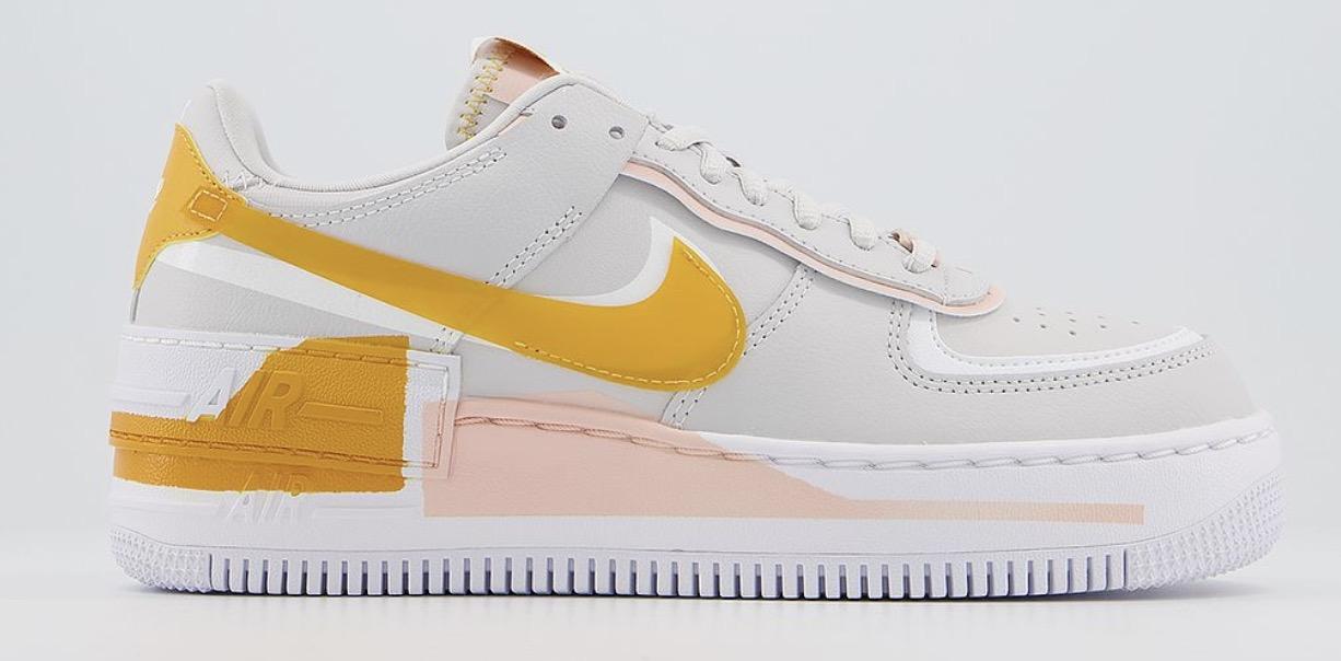 Nike Air Force 1 Shadow Grey Pollen Rise