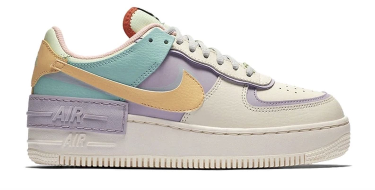 Nike Air Force 1 Shadow Pale Ivory Pastel