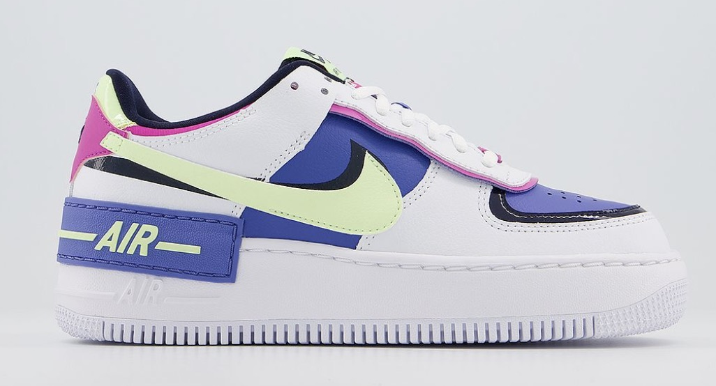 Nike Air Force 1 Shadow Sapphire Barely Volt