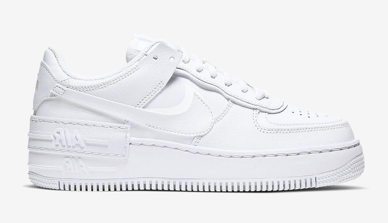 Nike Air Force 1 Shadow Triple White