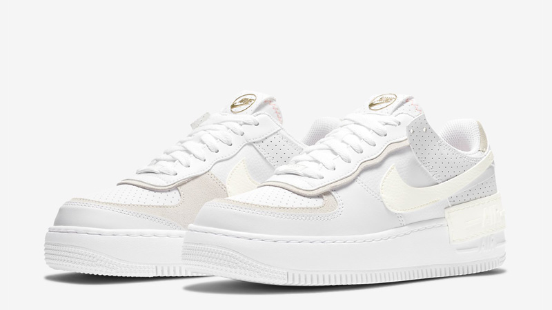 Nike Air Force 1 Shadow White Atomic Pink Front