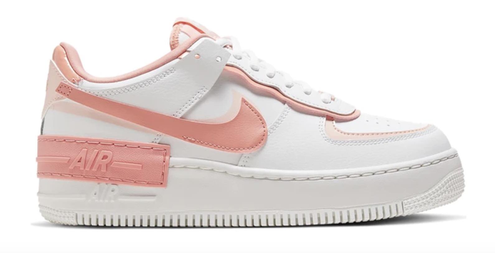 Nike Air Force 1 Shadow White Pastel Pink