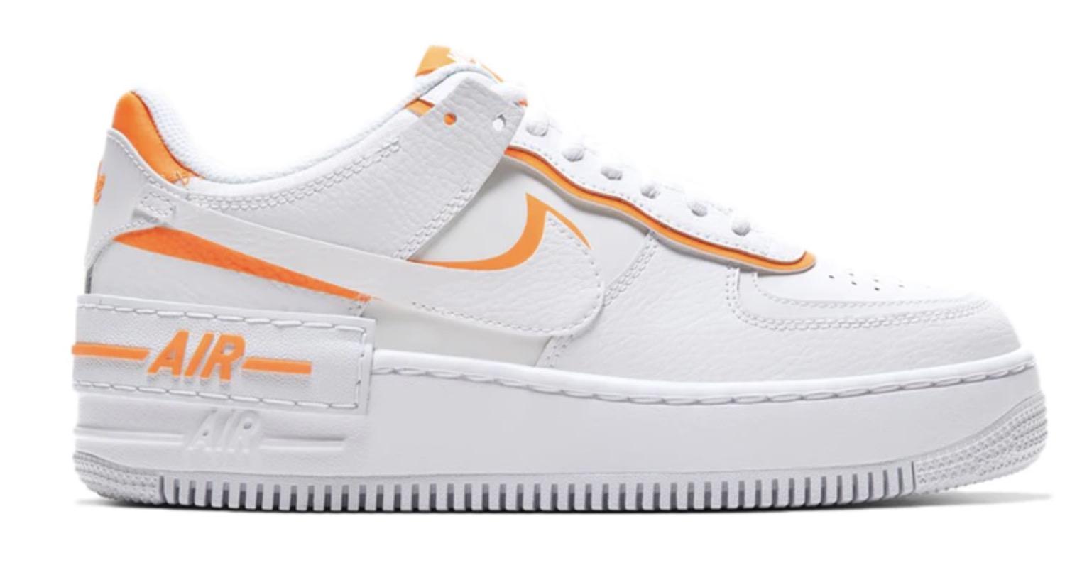 Nike Air Force 1 Shadow White Total Orange